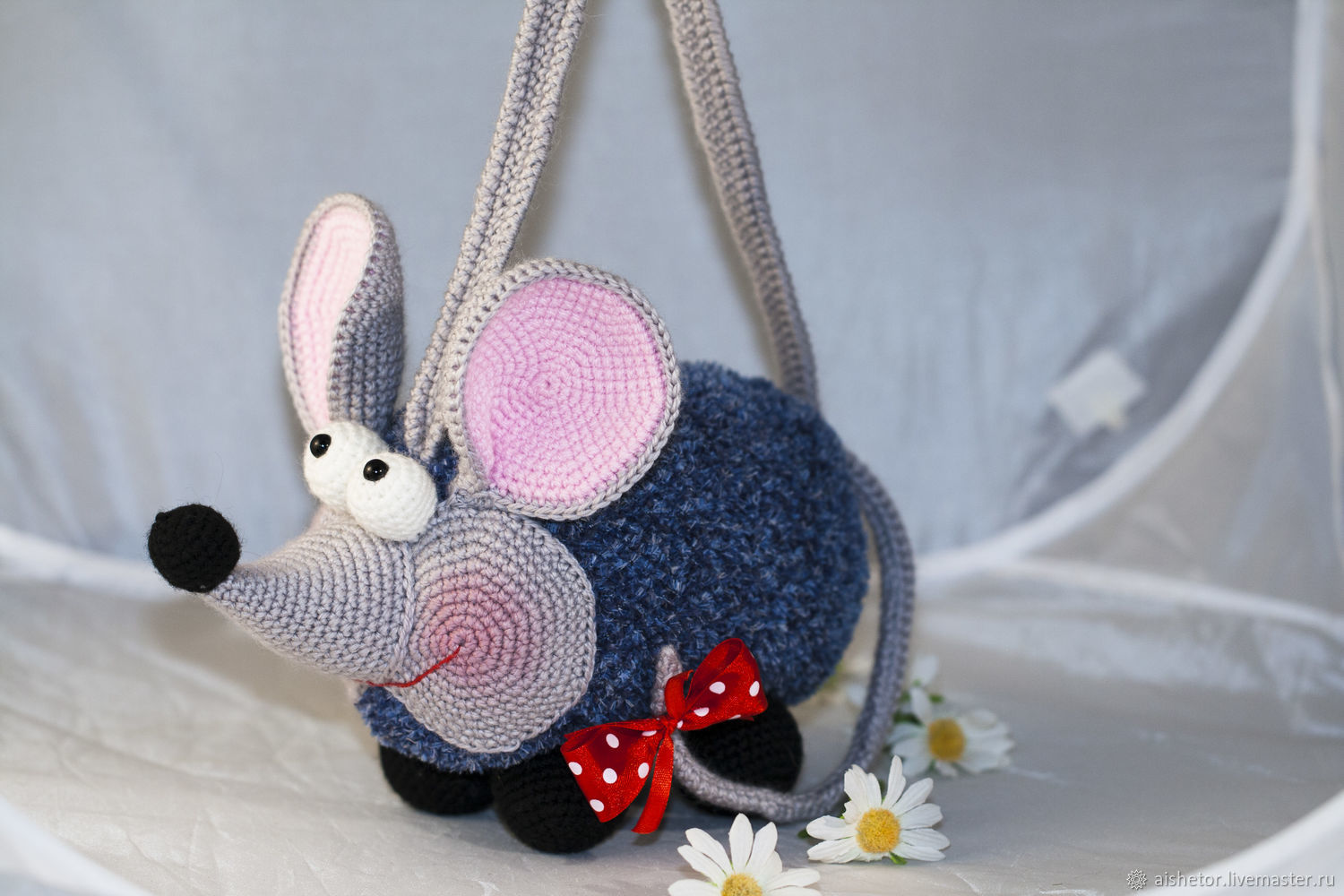 Bags: Baby handbag 26cm Mouse, Bags for children, Moscow,  Фото №1