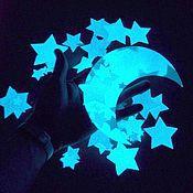 Для дома и интерьера handmade. Livemaster - original item Glow sticker Starry sky for walls and ceilings. Handmade.