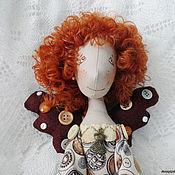 Куклы и игрушки ручной работы. Ярмарка Мастеров - ручная работа Кукла фейка-швейка Пуговка. Handmade.