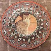 Посуда handmade. Livemaster - original item Plate Of