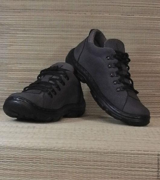 Обувь ручной работы. Ярмарка Мастеров - ручная работа. Купить ботинки  TRACK-2. Handmade. Темно-серый, летняя обувь