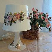 Для дома и интерьера ручной работы. Ярмарка Мастеров - ручная работа Лампа настольная. Handmade.