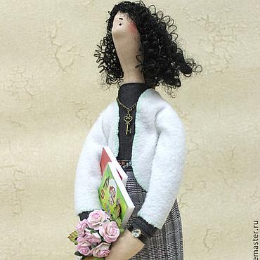 Куклы и игрушки ручной работы. Ярмарка Мастеров - ручная работа Портретная кукла учительница английского. Handmade.