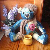 Куклы и игрушки ручной работы. Ярмарка Мастеров - ручная работа Мишка Тедди из винтажного плюша Эмиль. Handmade.