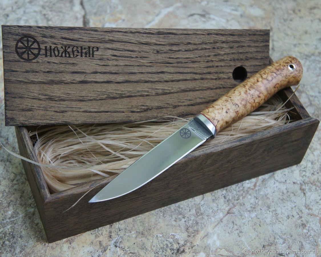 Bo-1 for knives oak ' Nozheyar', Box, Vorsma,  Фото №1