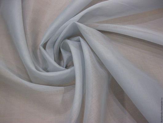 Шитье ручной работы. Ярмарка Мастеров - ручная работа. Купить Шелковая оргнза. Handmade. Серый, шелковый платок, шелковые цветы