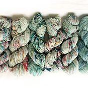 Материалы для творчества handmade. Livemaster - original item The hand-painted yarn (Merino/cashmere/silk). Handmade.