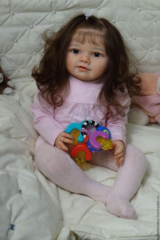 Куклы и игрушки ручной работы. Ярмарка Мастеров - ручная работа. Купить Sophia от Jannie de Lange+тело.. Handmade. Бежевый