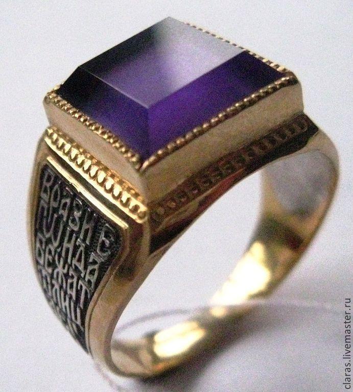 Мужские серебряные кольца, перстни и печатки из