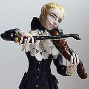 Куклы и игрушки ручной работы. Ярмарка Мастеров - ручная работа кукла вампир Лестат. Handmade.