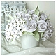 Bouquet Whiter than white. Flowers polymer clay handmade, Composition, Moscow,  Фото №1