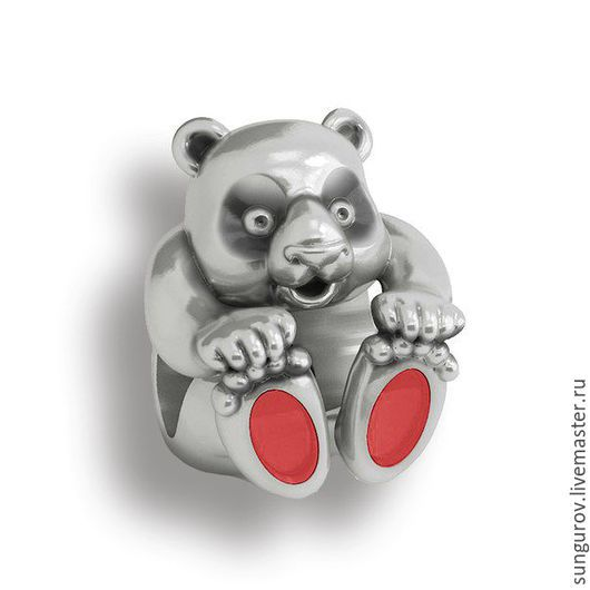 Шарм на браслет `Teddy` (Арт.105002)