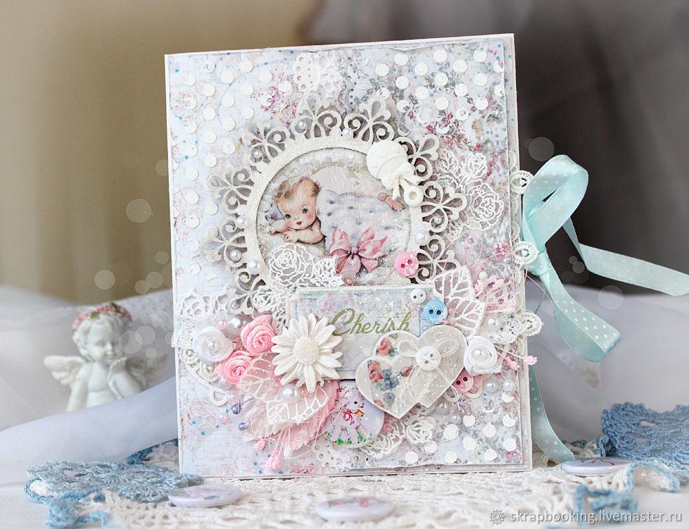 Детские открытки для девочки скрапбукинг, лет