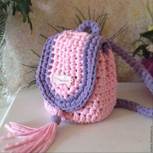 Рюкзаки ручной работы. Ярмарка Мастеров - ручная работа. Купить рюкзачок для малышки. Handmade. Розовый, рюкзак, рюкзачок детский