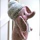 Игрушки животные, ручной работы. Слонёнок Фабио. Оksana Caccioppoli. Ярмарка Мастеров. Авторская игрушка, валяние игрушек, мохеровая пряжа