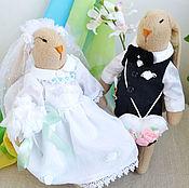 Свадебный салон handmade. Livemaster - original item Rabbits wedding