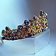"""Диадемы, обручи ручной работы. Ярмарка Мастеров - ручная работа. Купить Корона по мотивам украшений DOLCE&GABBANA """"Аквамарин"""". Handmade. Корона"""