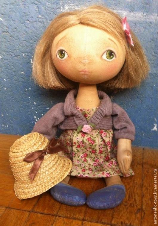 Куклы тыквоголовки ручной работы. Ярмарка Мастеров - ручная работа. Купить Любочка. Handmade. Девочка, кукла ручной работы