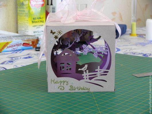 Персональные подарки ручной работы. Ярмарка Мастеров - ручная работа. Купить Волшебный кубик бумажный 100% Handmade. Handmade. Разноцветный