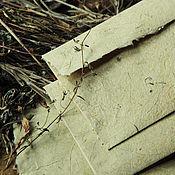 """Канцелярские товары ручной работы. Ярмарка Мастеров - ручная работа """"Лесное эхо"""" - конверты и бумага ручной работы. Handmade."""