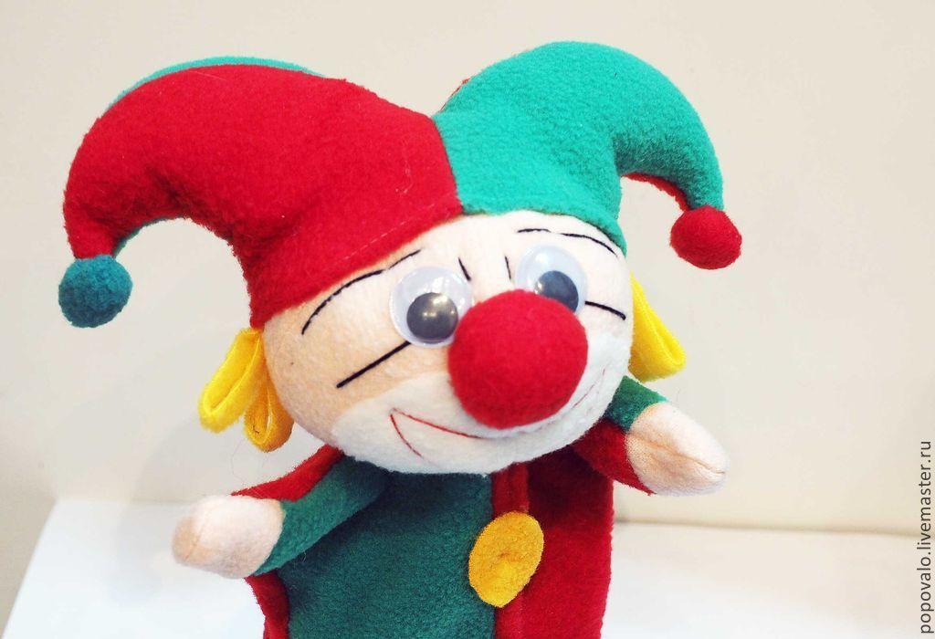 Скоморох ,петрушка ,игрушка для кукольного театра – купить в ... bcbad81fb66