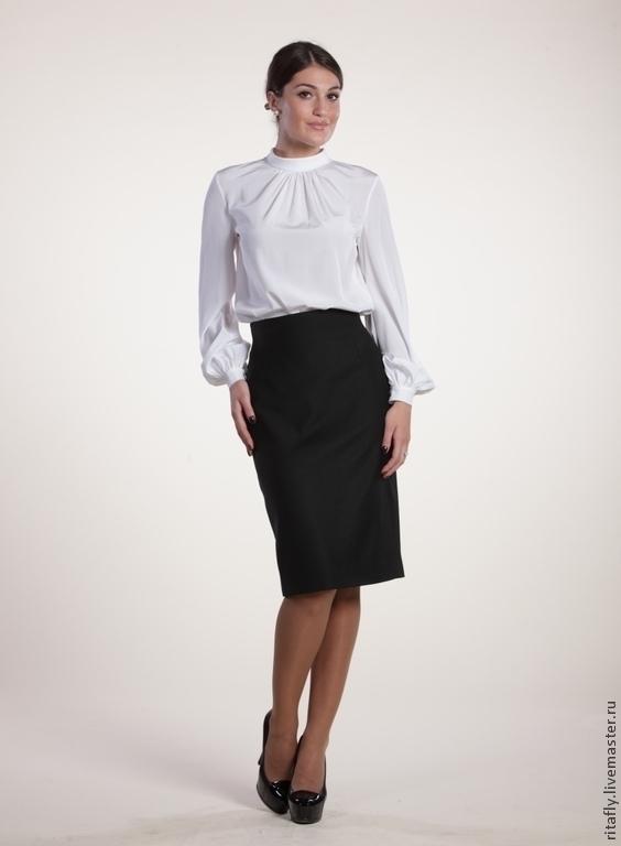 Прямая юбка карандаш модель