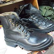 Обувь ручной работы. Ярмарка Мастеров - ручная работа зимняя обувь. Handmade.