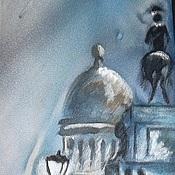 """Аксессуары ручной работы. Ярмарка Мастеров - ручная работа Галстук """"Утро туманное"""". Handmade."""