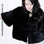 Одежда handmade. Livemaster - original item Coat - coat of mink