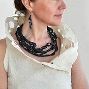 Украшения handmade. Livemaster - original item Porcelain necklace