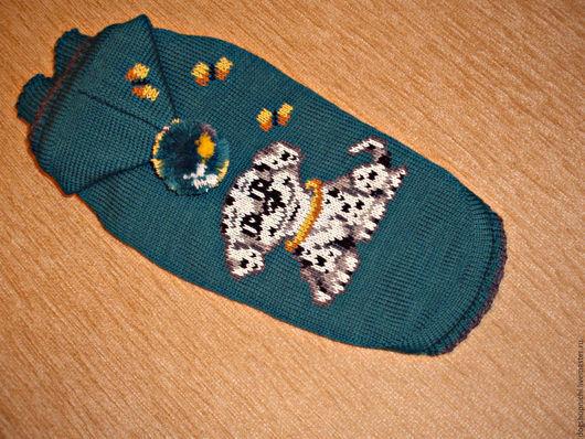 Одежда для собак, ручной работы. Ярмарка Мастеров - ручная работа. Купить Свитерок Щенок. Handmade. Морская волна, Свитер для собак