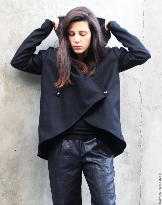 """Верхняя одежда ручной работы. Ярмарка Мастеров - ручная работа. Купить Пальто """"Short Style """" C0014. Handmade."""