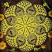 Для дома и интерьера ручной работы. Ярмарка Мастеров - ручная работа Декоративная салфетка. Handmade.
