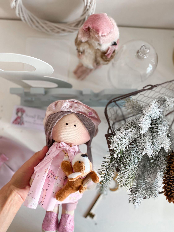 Продана! Текстильная интерьерная кукла ручной работы, Куклы Тильда, Краснодар,  Фото №1