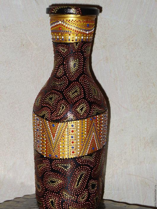 """Графины, кувшины ручной работы. Ярмарка Мастеров - ручная работа. Купить Кувшин """"Африка"""". Handmade. Комбинированный, акриловые краски"""