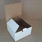 Материалы для творчества ручной работы. Ярмарка Мастеров - ручная работа Гофрокоробка малая. Handmade.