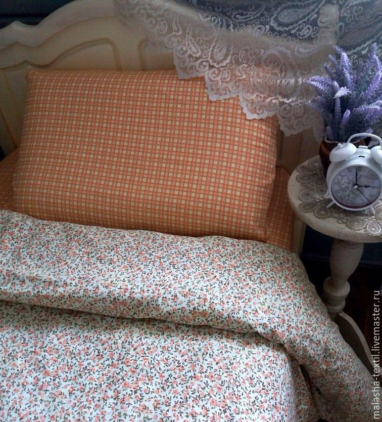 Текстиль, ковры ручной работы. Ярмарка Мастеров - ручная работа. Купить Комплект постельного белья Кантри. Handmade. Кантри