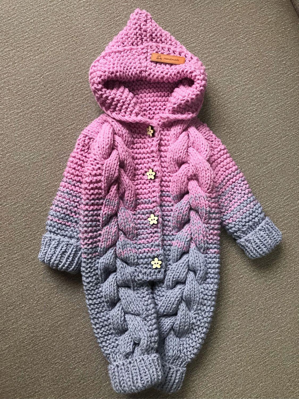 Одежда для девочек, ручной работы. Ярмарка Мастеров - ручная работа. Купить Детский комбинезон 1-3 месяца. Handmade. Комбинезон