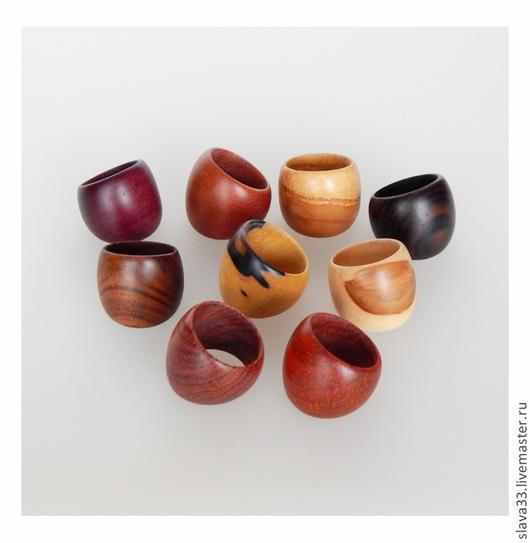 Кольца ручной работы. Ярмарка Мастеров - ручная работа. Купить Колечки из дерева ( на заказ ). Handmade. Деревянные кольца