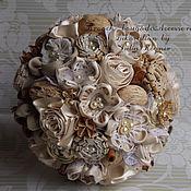 """Свадебный салон ручной работы. Ярмарка Мастеров - ручная работа Rustic wedding bouquet """"vanilla stories"""". Handmade."""