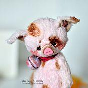 Куклы и игрушки ручной работы. Ярмарка Мастеров - ручная работа поросенок Чу-Чу, коллекционная игрушка хрюша свинья. Handmade.