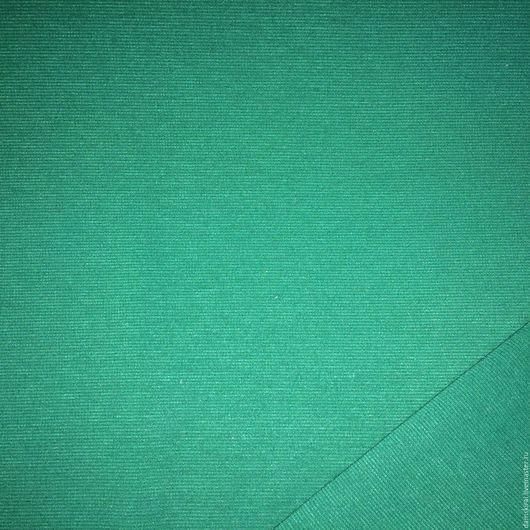 Шитье ручной работы. Ярмарка Мастеров - ручная работа. Купить Ткань трикотажная. Handmade. Тёмно-бирюзовый, ткань для шитья