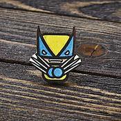 Украшения handmade. Livemaster - original item Wooden icon Wolverine. Handmade.