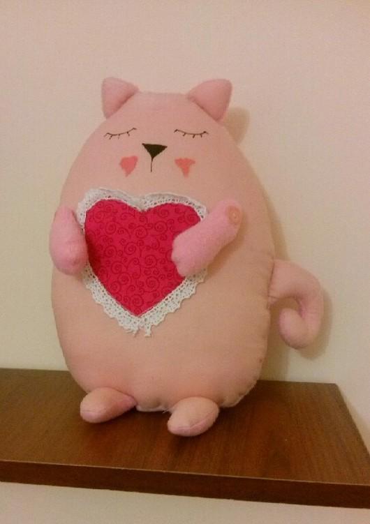 Игрушки животные, ручной работы. Ярмарка Мастеров - ручная работа. Купить Сонный котенок. Handmade. Котик, кот в подарок