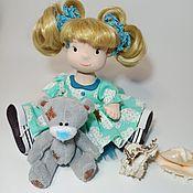 Куклы и пупсы ручной работы. Ярмарка Мастеров - ручная работа Кукла Блондинка. Handmade.