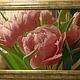 Картины цветов ручной работы. Ярмарка Мастеров - ручная работа. Купить Ждём весну. Handmade. Вышивка крестиком, Вышивка крестом