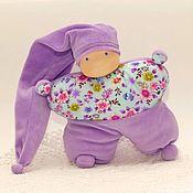 Куклы и игрушки handmade. Livemaster - original item Komforter, 24 cm (splush doll - butterfly). Handmade.