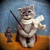 Куклы и игрушки ручной работы. Ярмарка Мастеров - ручная работа кот Василий. Handmade.