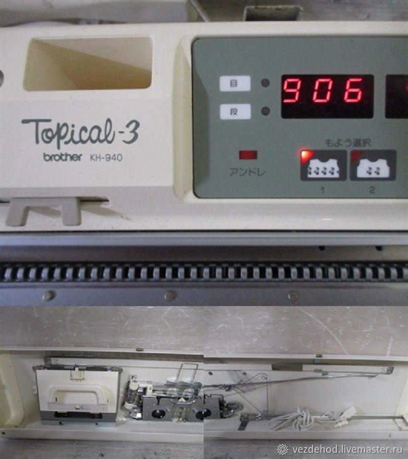 Вот еще Вязальная машинка brother КН 940 – купить в интернет-магазине на Ярмарке Мастеров с доставкой - JA0OARU | Зеленоград