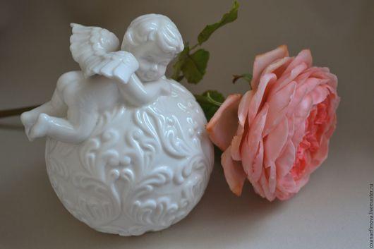 Интерьерные композиции ручной работы. Ярмарка Мастеров - ручная работа. Купить Английская роза. Handmade. Полимерная глина, флористические материалы